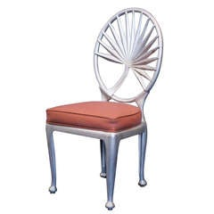 Aluminum Palm Leaf Dining Chair Outdoor/Patio Use, 16 Available
