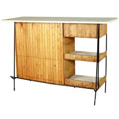 Arthur Umanoff Mid-Century Modern Cocktail Bar  **Saturday sale**
