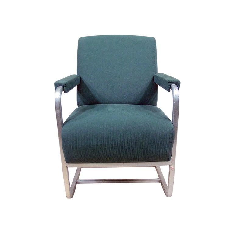 Aluminum Pullman Passenger Train Railroad Lounge Chair ** Saturday Sale** 3