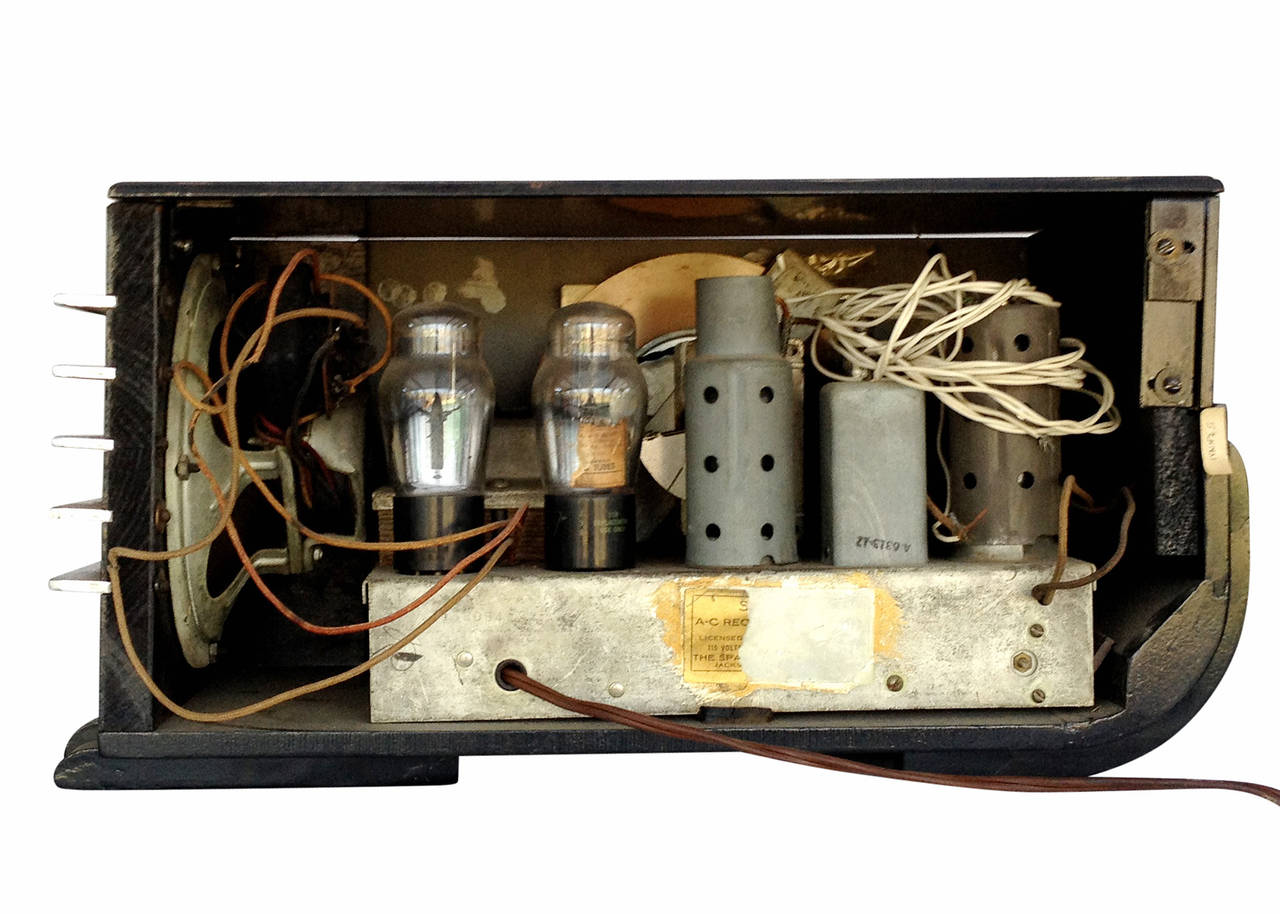 """Sparton Model 557 """"Sled"""" Radio by Walter Dorwin Teague For Sale 3"""