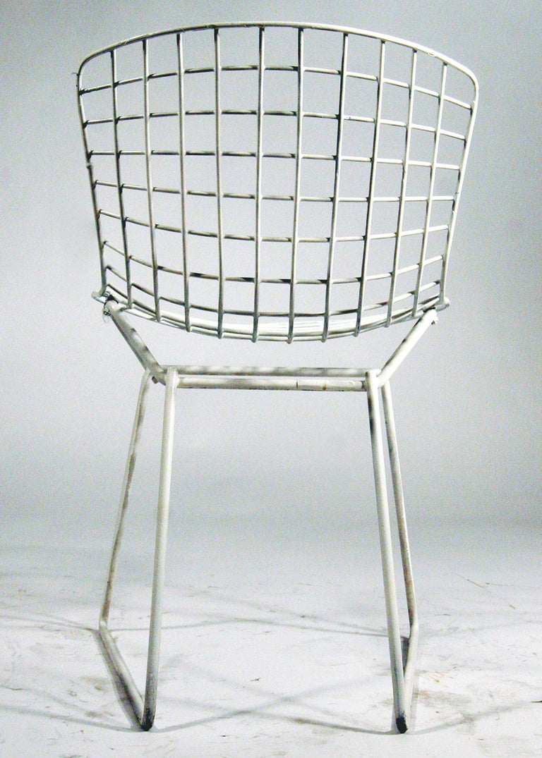 Rare Harry Bertoia Children 39 S Side Chairs For Knoll Set Of 3 At 1stdibs