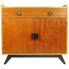 Paul Frankl Combed Wood Cabinet for Brown Saltman  ** Saturday Sale**