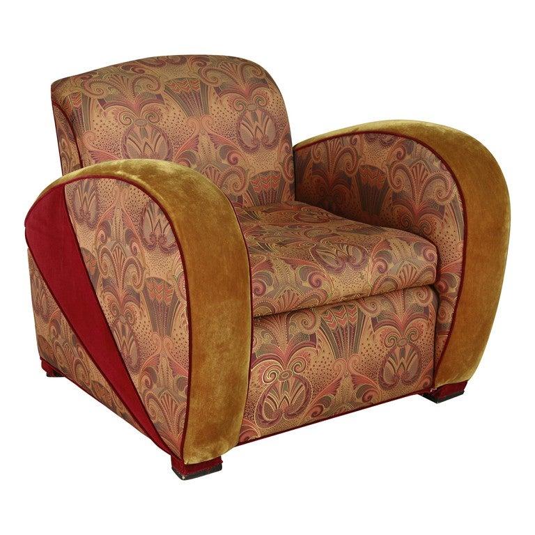 art deco jazz club chair in the style of frankls speed chai saturday sale art deco era furniture