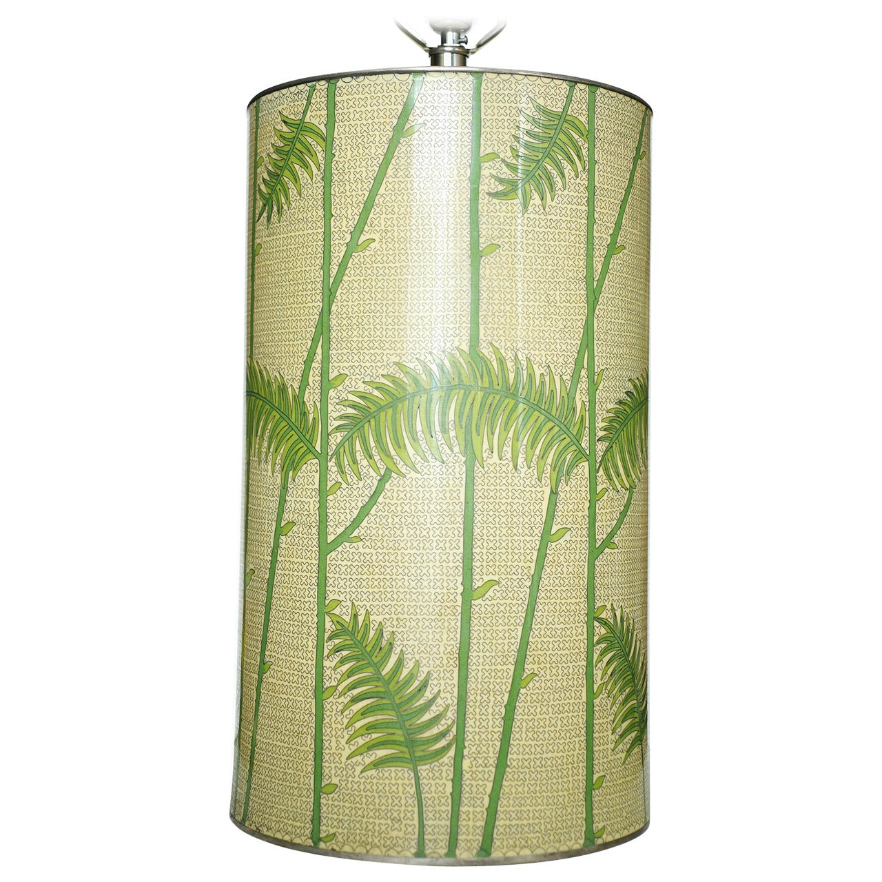 Mid Century Palm Leaf Lamp For Sale at 1stdibs