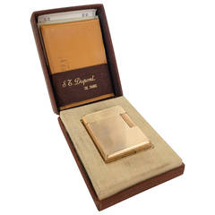 S.T. Dupont Line 1 Pocket Lighter in box  ** Saturday Sale **
