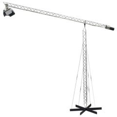 Postmodern Crane Floor Lamp by Curtis Jere