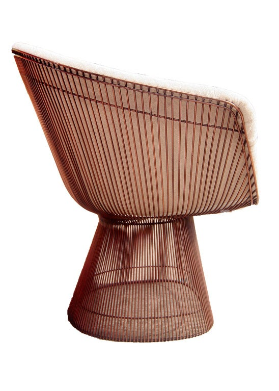 Fantastic Extremely Rare Polished Copper Lounge Chair By Warren Andrewgaddart Wooden Chair Designs For Living Room Andrewgaddartcom