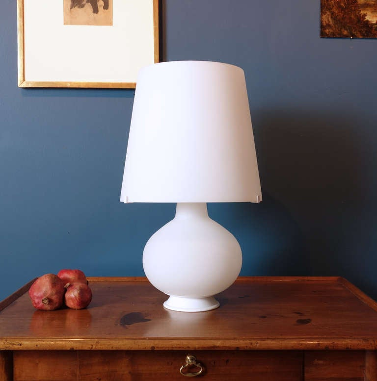 max ingrand table lamp for fontana arte at 1stdibs. Black Bedroom Furniture Sets. Home Design Ideas