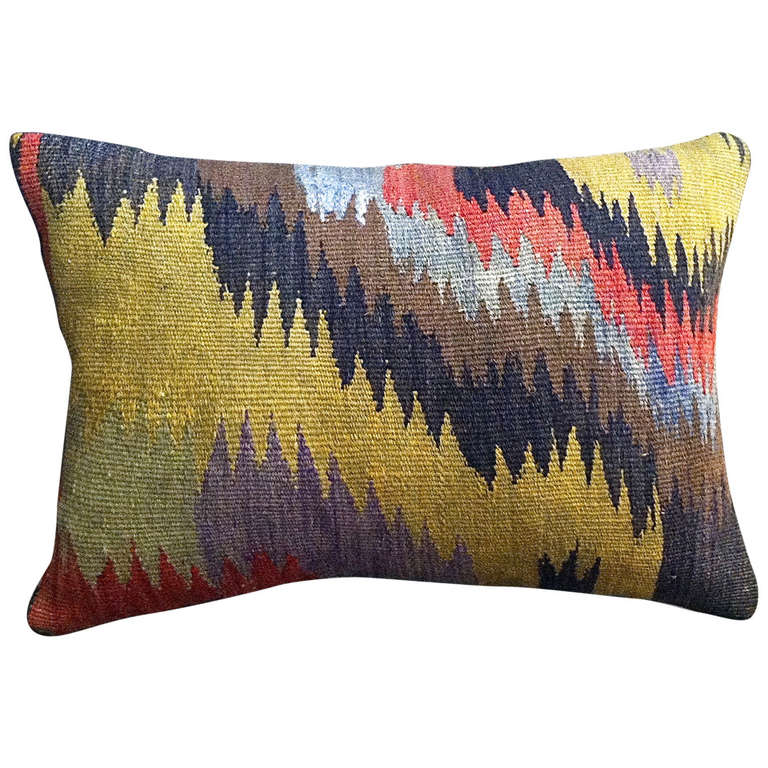 Turkish Kilim Throw Pillows : Turkish Kilim Throw Pillow at 1stdibs