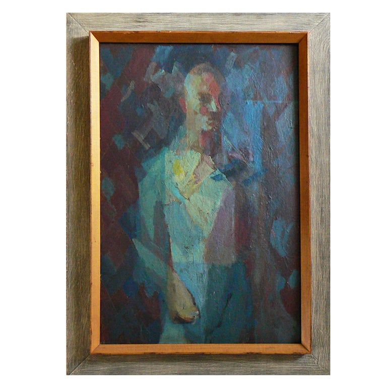 Earl Kerkam Quot Self Portrait No 4 Quot At 1stdibs
