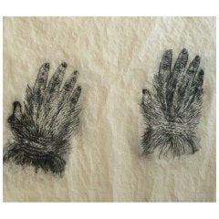 Kiki Smith Etching