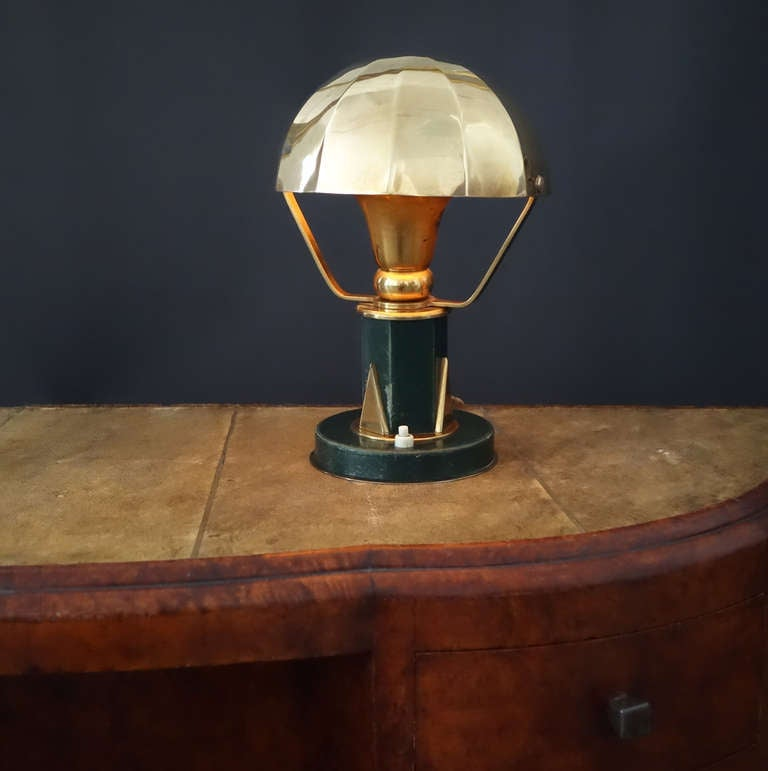Small Table Lamp in the Manner of Paul Dupre-Lafon 4
