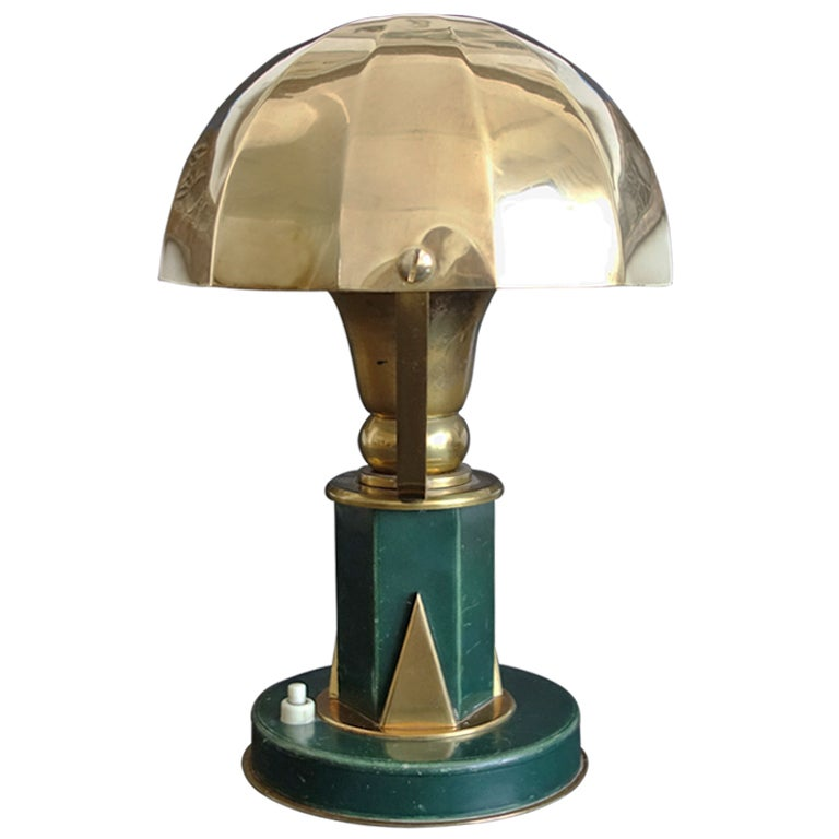 Small Table Lamp in the Manner of Paul Dupre-Lafon 1