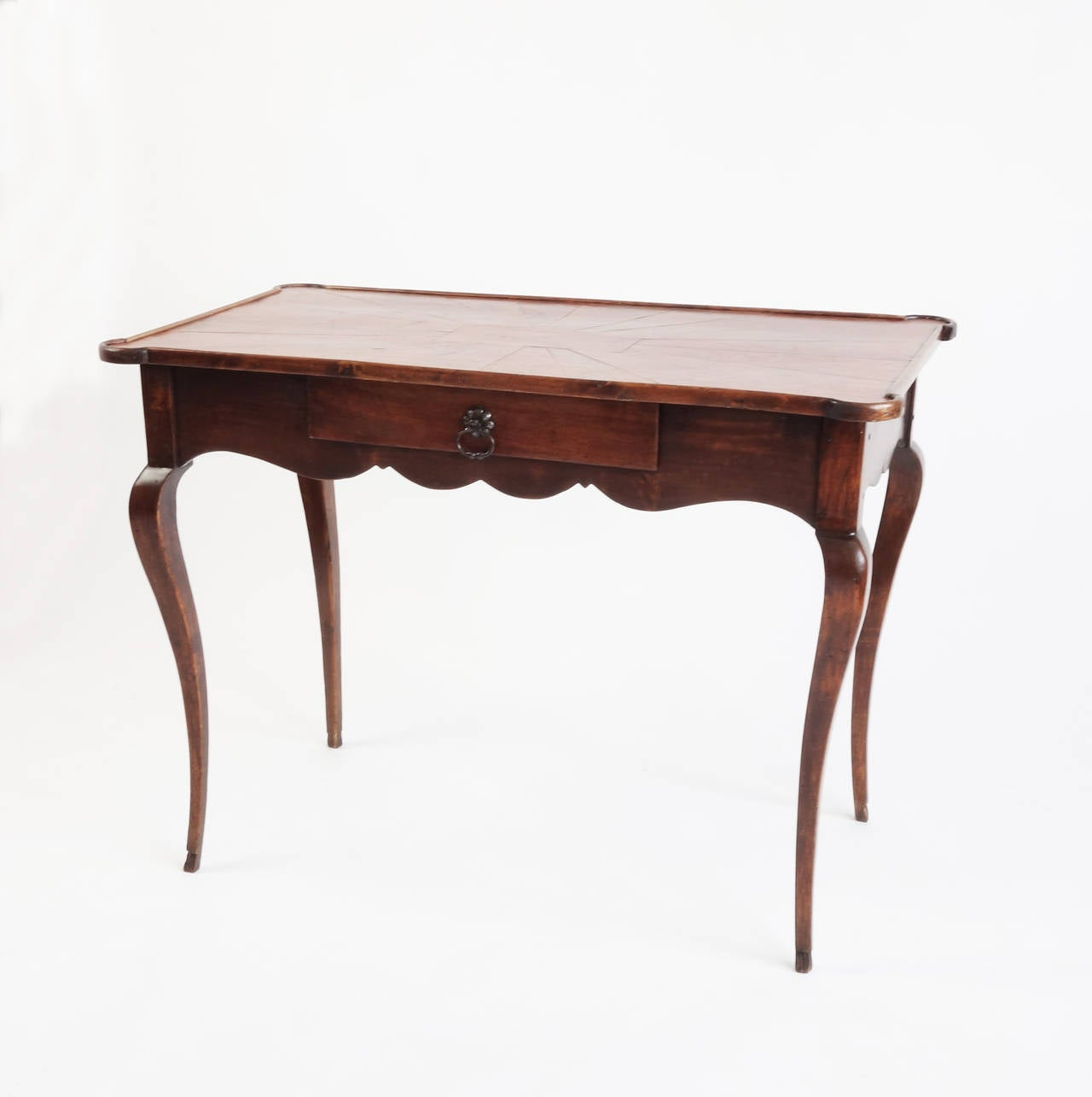 19th century french leather topped bureau plat at 1stdibs. Black Bedroom Furniture Sets. Home Design Ideas