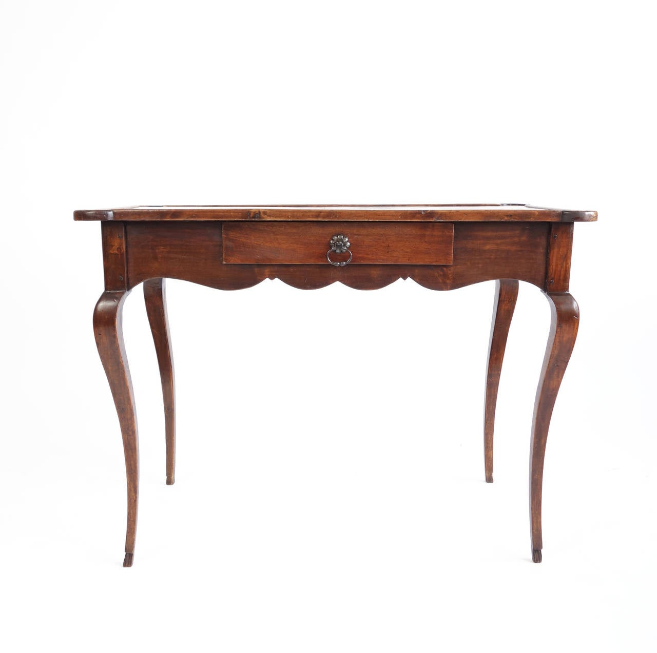 19th century french leather topped bureau plat at 1stdibs for Bureau table