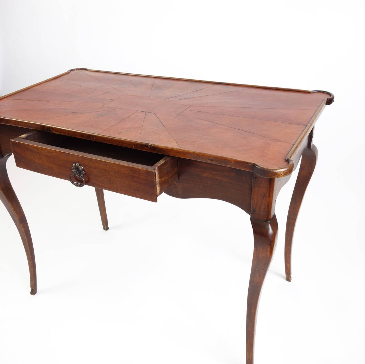 19th century french leather topped bureau plat at 1stdibs for Bureau french