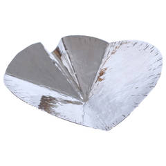 Hammered Sterling Dish by Rey Urban