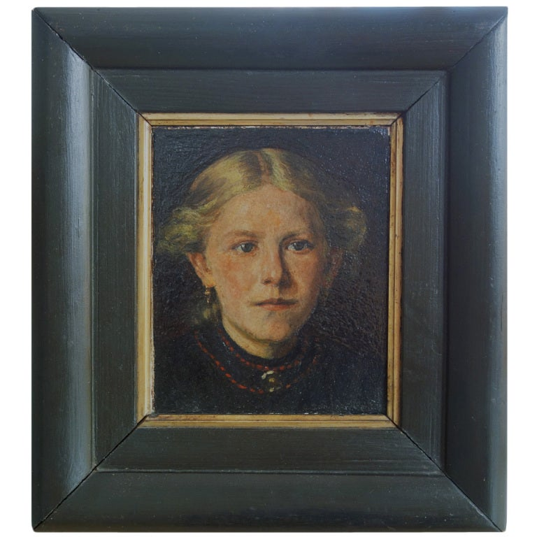 Portrait of a Young Woman, Northern European School