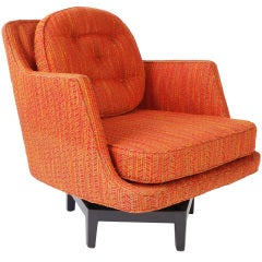 Swivel Armchair by Edward Wormley for Dunbar