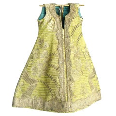 18th Century Brocade Image Robe