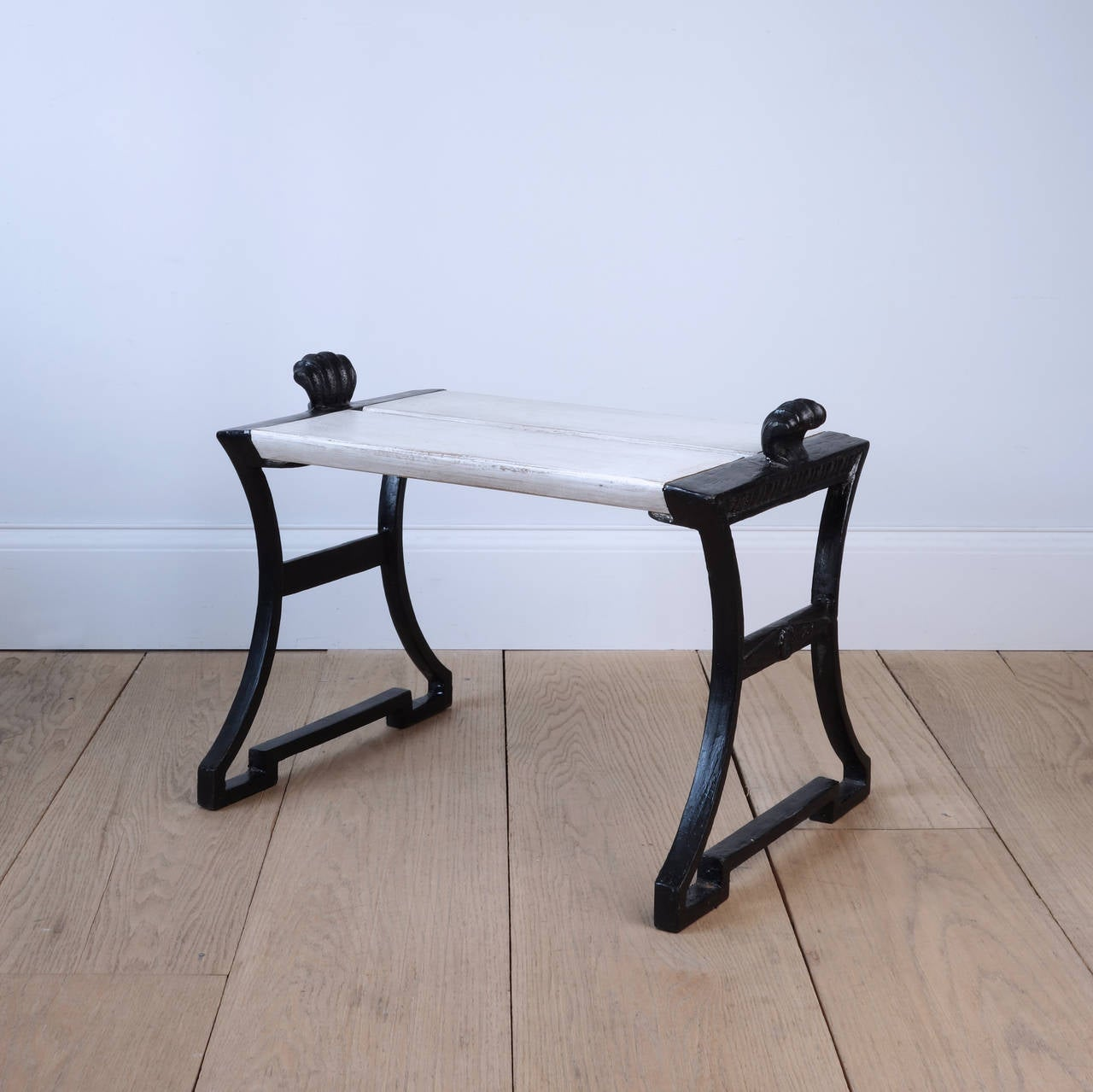 Cast Of Benched : Folke bensow cast iron garden bench at stdibs