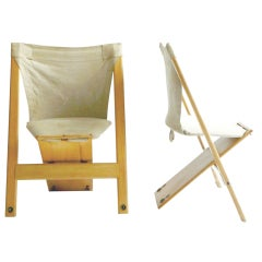 Pair of Rare Giovanni Offredi Gambacorda Chairs