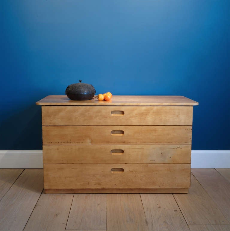 Marcel breuer rhoads hall chest of drawers at stdibs