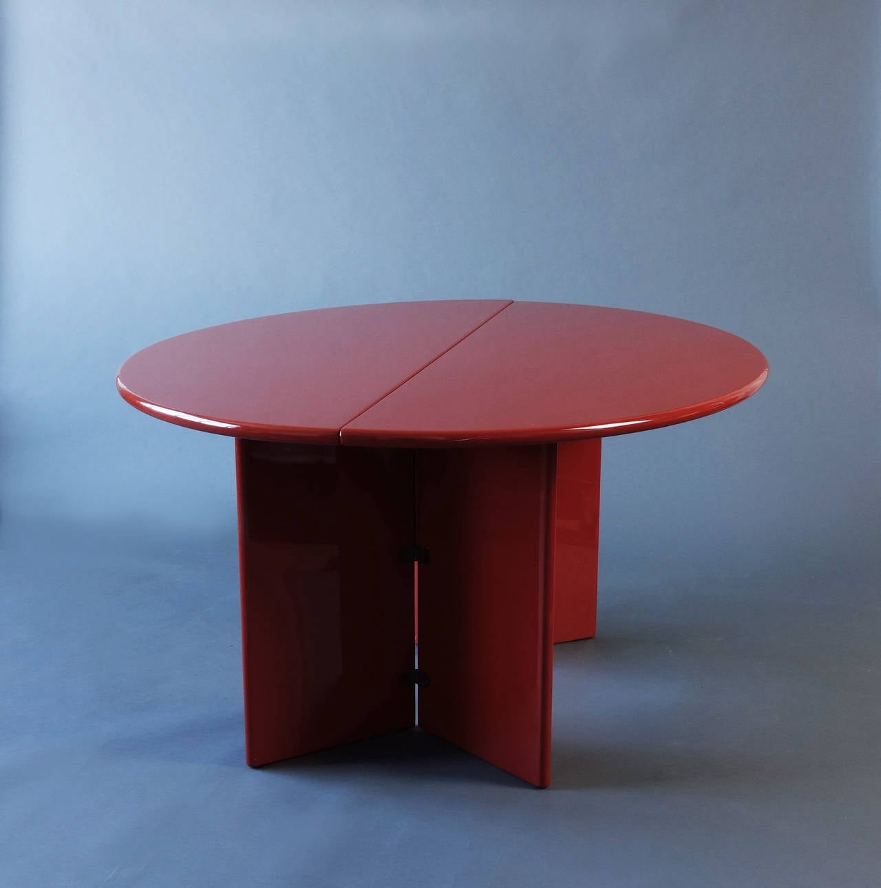 Antella folding console table by kazuhide takahama at 1stdibs for Table console retractable