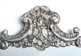 Large Italian Baroque Silver Repousse Mirror image 3