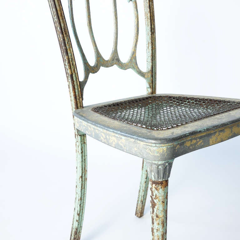 Metal Louis Xvi Style Side Chair At 1stdibs