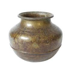 Indian Bronze Vessel