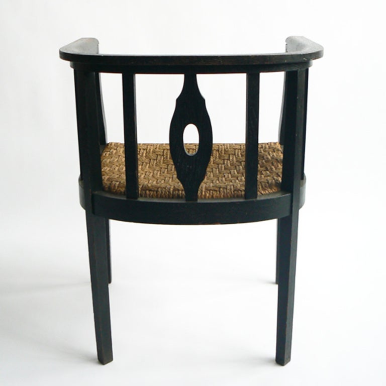A Pair of Wilhelm Schmidt Chairs In Good Condition For Sale In New York, NY