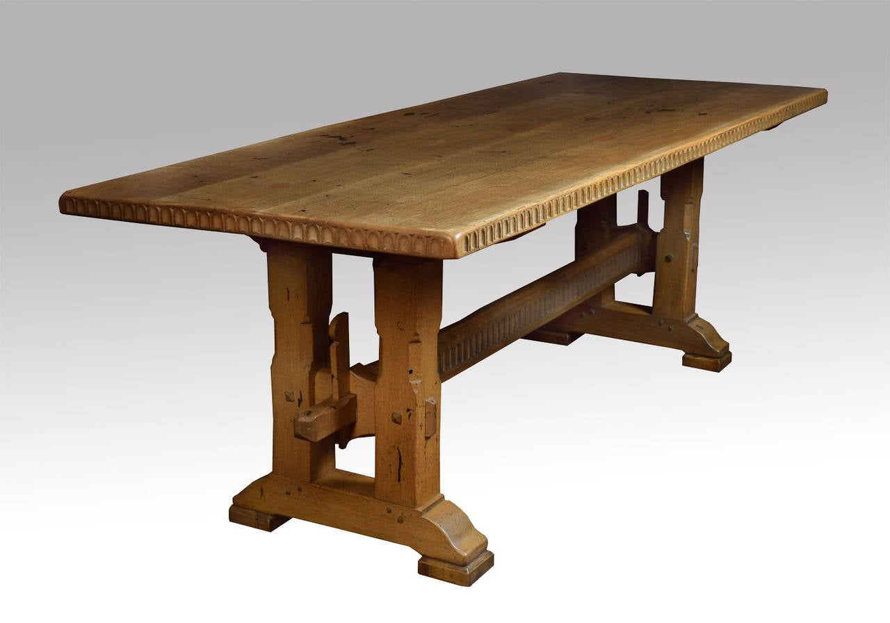 Large Oak Refectory Dining Table at 1stdibs : DSC0488l from 1stdibs.com size 1280 x 896 jpeg 65kB