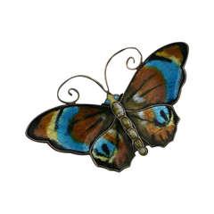 David Anderson Enamel Butterfly