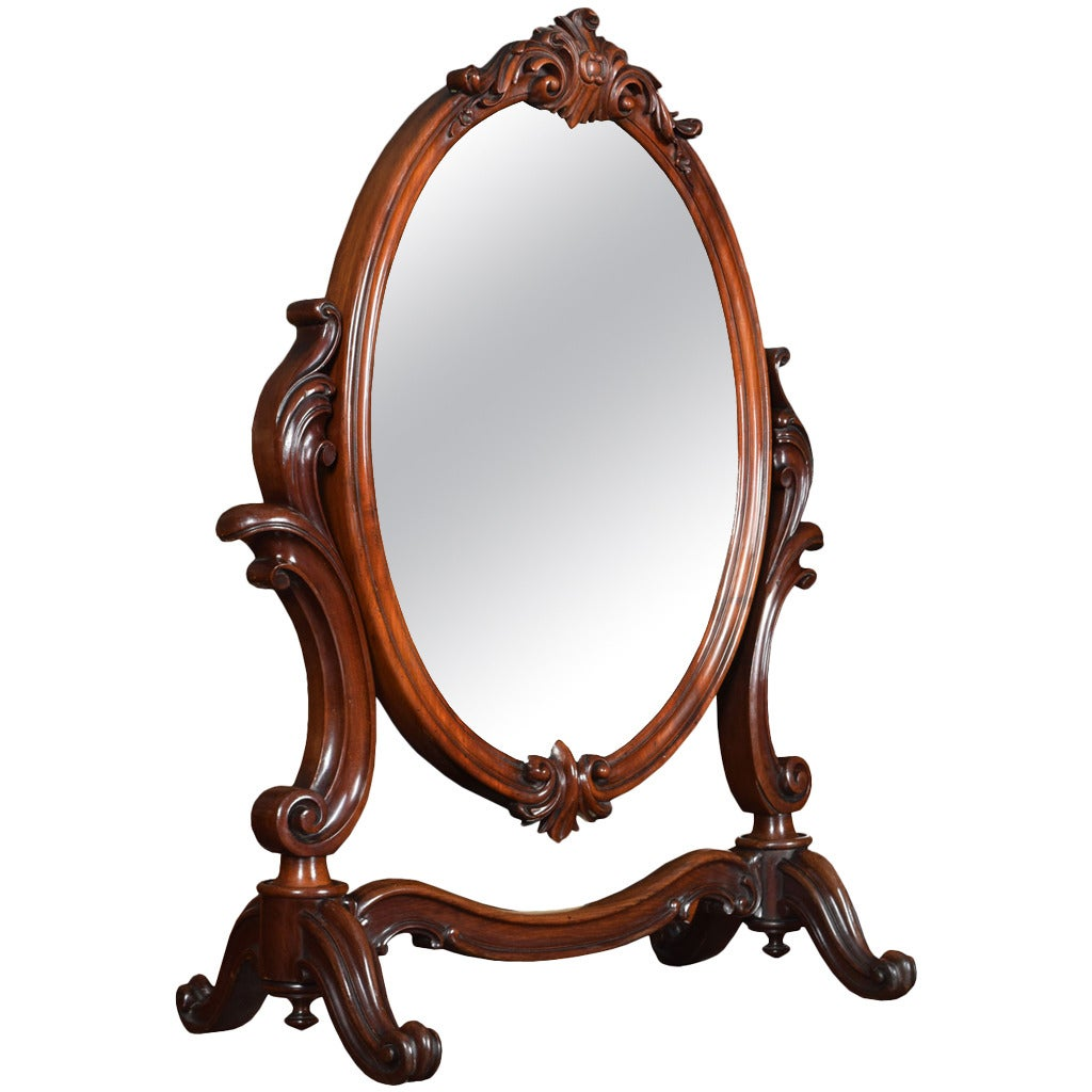 19th century mahogany dressing table mirror for sale at 1stdibs for Dressing mirror