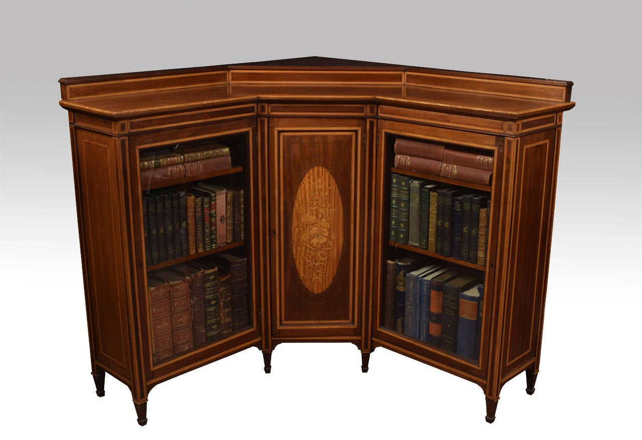 Storage Bookcases Corner And L Shape Desks All Home Office Furnitur . Full resolution‎  image, nominally Width 1280 Height 878 pixels, image with #6F3716.