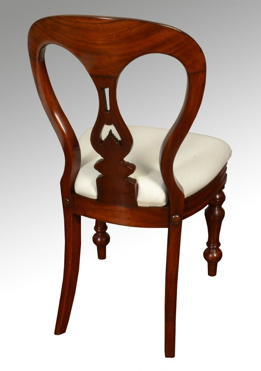 Set of Ten Mahogany Victorian Dining Chairs For Sale at  : DSC095099037zoom 1 from www.1stdibs.com size 900 x 1280 jpeg 86kB