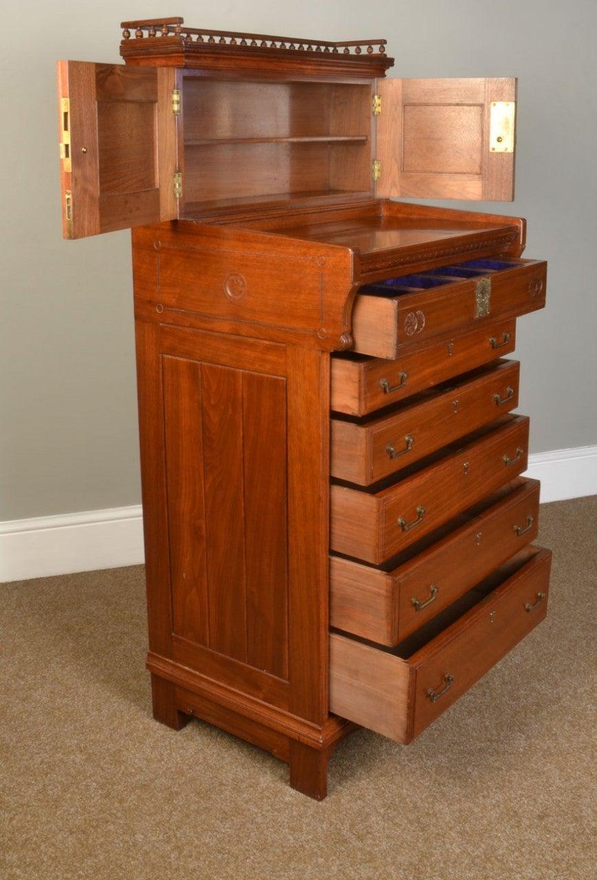 Walnut Butlers Cabinet 2