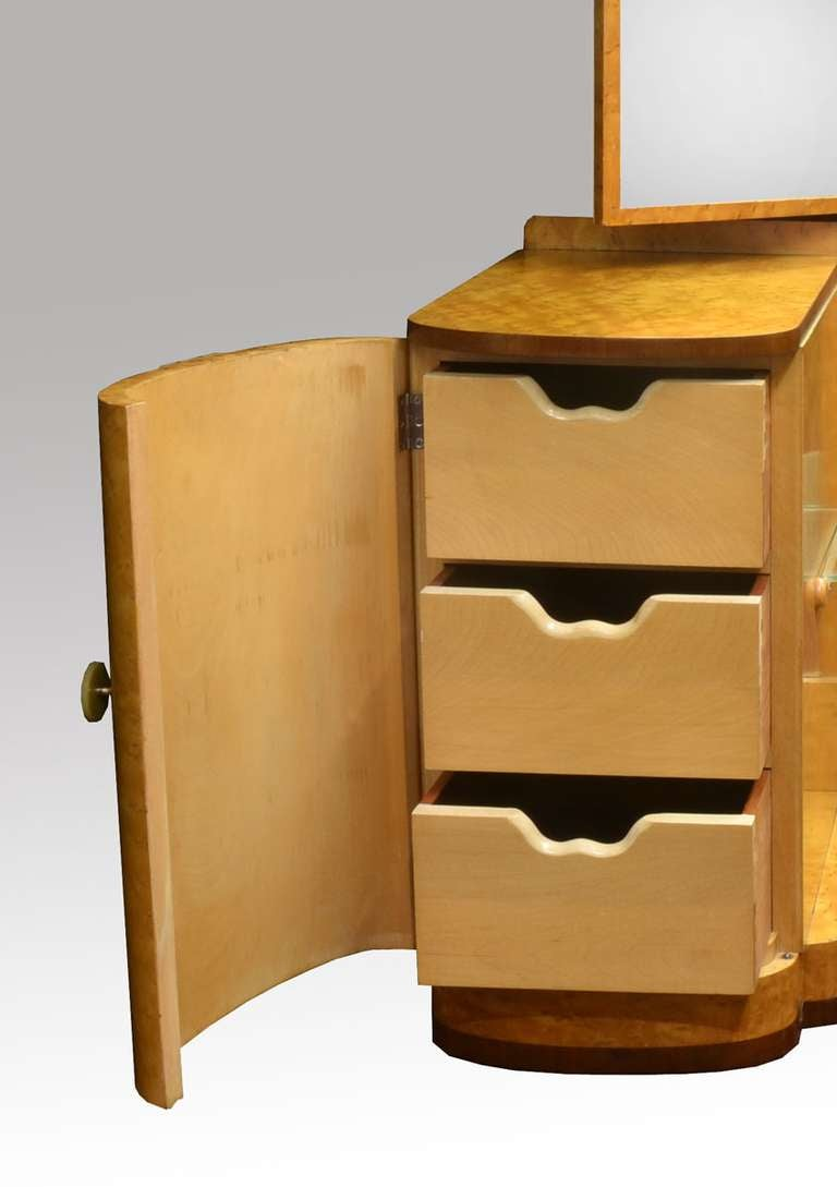 Art deco bedroom suite attributed to epstein at 1stdibs - Epstein art deco furniture ...