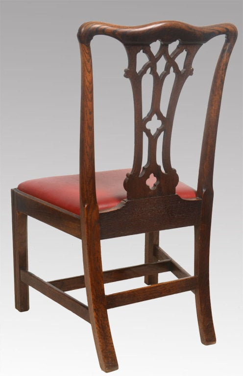 Set Of Ten Chippendale Style Dining Chairs At 1stdibs