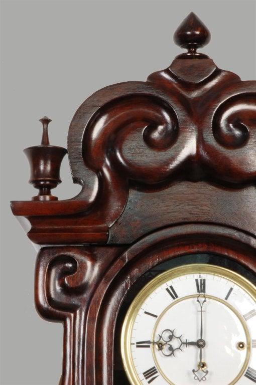 Triple Weight Vienna Wall Clock At 1stdibs