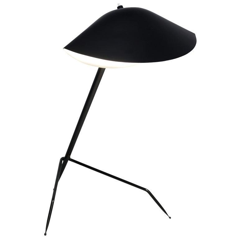 desk light trepied by serge mouille 1954 at 1stdibs. Black Bedroom Furniture Sets. Home Design Ideas