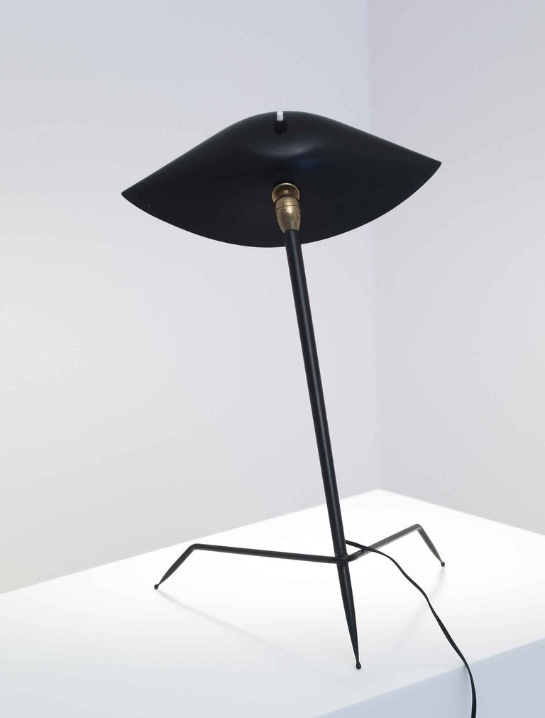 desk light trepied by serge mouille 1954 at 1stdibs. Black Bedroom Furniture Sets. Home Design Ideas