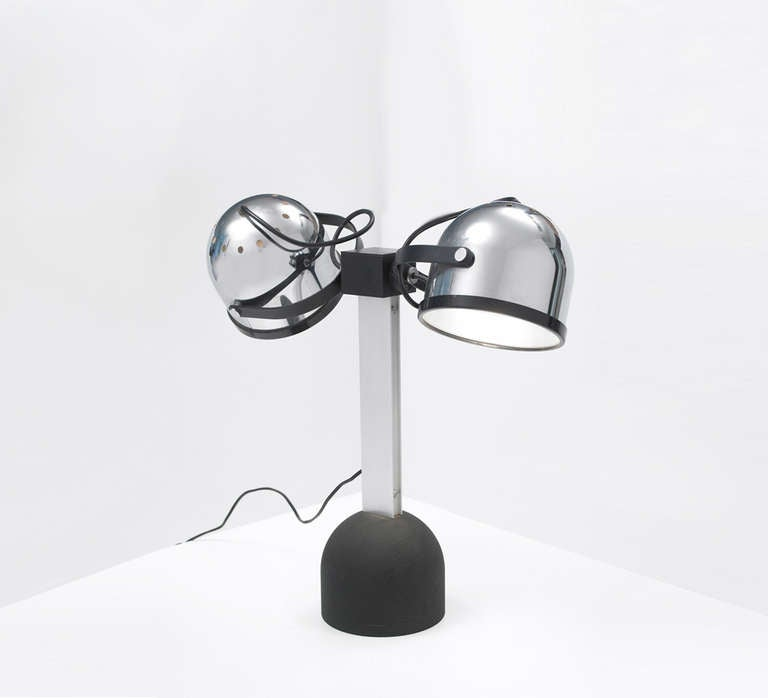 table lamp 61030 by gae aulenti and livio castiglioni 1972 at 1stdibs. Black Bedroom Furniture Sets. Home Design Ideas