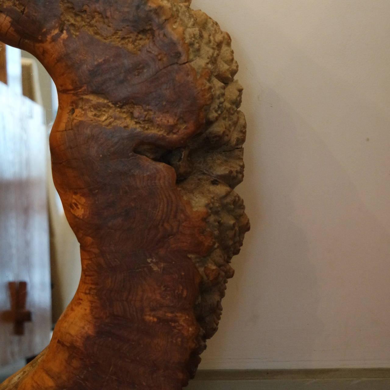 Mid-20th Century Beautiful Wood Frame Mirror