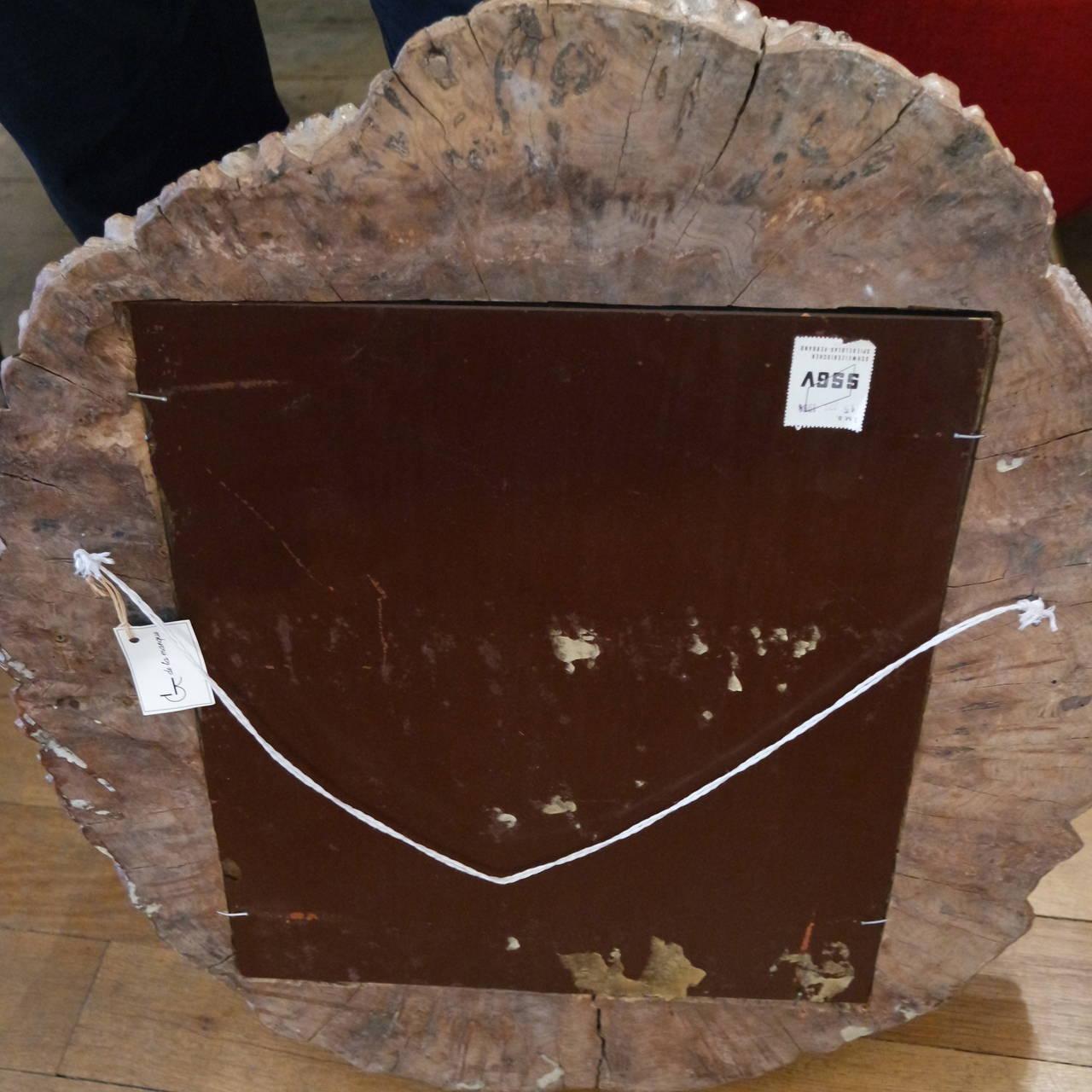Beautiful Wood Frame Mirror 4