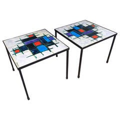 Pair of Decorative Tables by Belarti