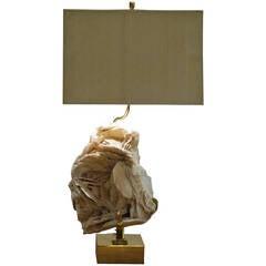 """Rose des sables"" lamp"