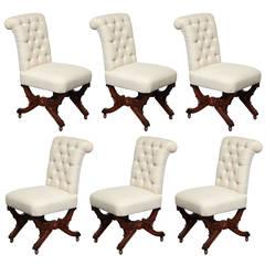 Set of Six 19th Century English Chairs