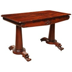 Early 19th Century Irish Library Table or Desk